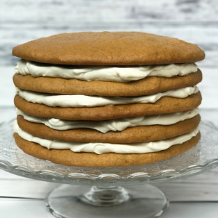 Pumpkin Spice Cookie Cake Recipe