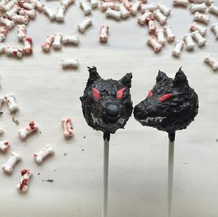 Werewolf Cake Pops Tutorial