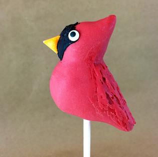 Cardinal Cake Pops Tutorial