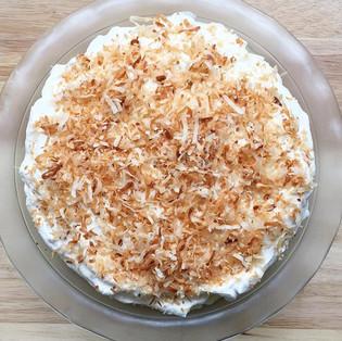 Not Your Regular Coconut Cream Pie