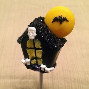 Halloween Haunted House Cake Pops Tutorial