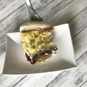 Blueberry Basil Cake Recipe