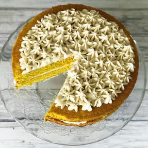 Turmeric Cake - Sfouf Recipe