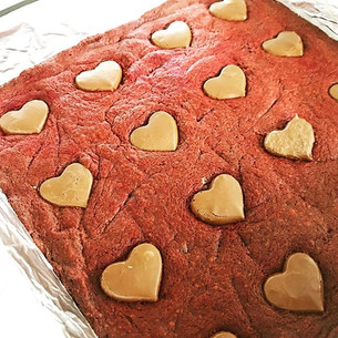 Red Velvet Brownies with Nutella Recipe