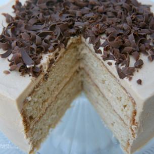 Peanut Butter Cake with PB Buttercream Recipe