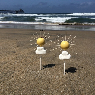 Summer Sun Cake Pops Tutorial