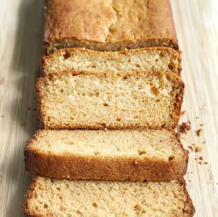 Guilt-Free Yogurt Honey Pound Cake Recipe