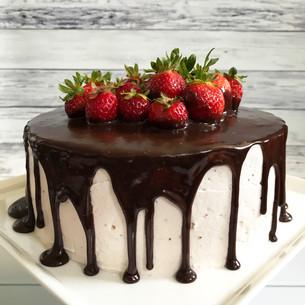 Fresh Strawberry Cake Recipe