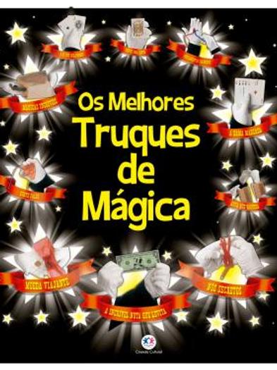 Livro: Os melhores truques de mágica