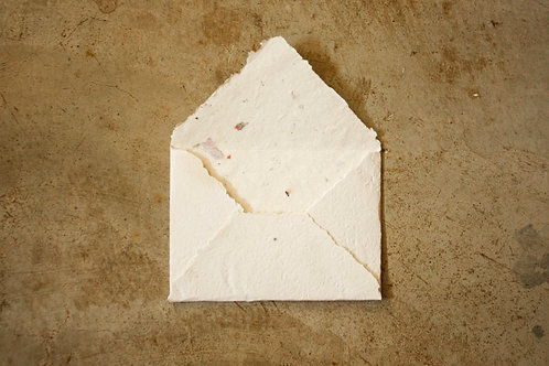 Envelope A6  I  Pólen  I  Bordas rústicas
