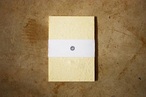 Papel Amarelo Pastel / A4 / 10 folhas