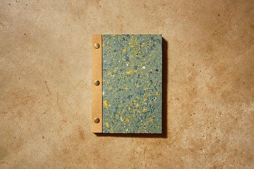 Caderno Bailarina / A5 / Azul+Amarelo