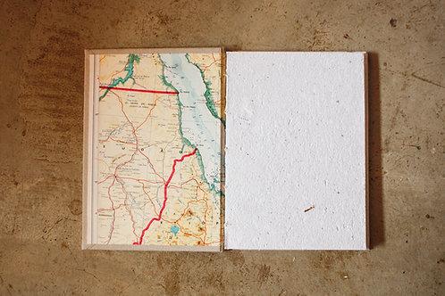 Caderno capa dura / A5 / Geográfico