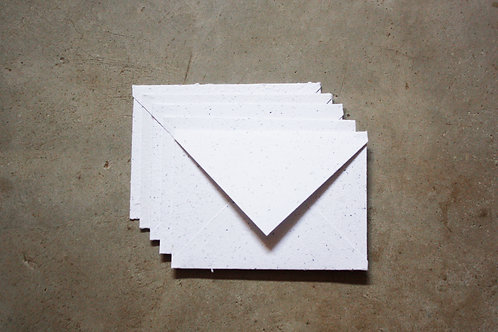5 Envelopes A6 / off white