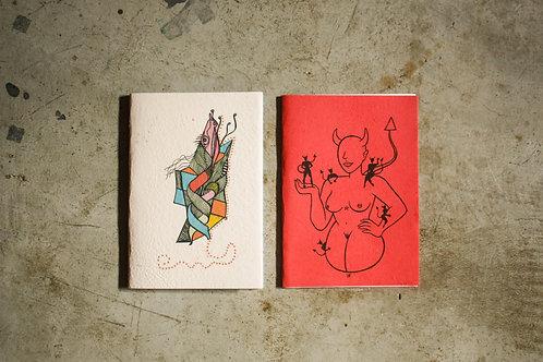 Kit cadernos Manas 4