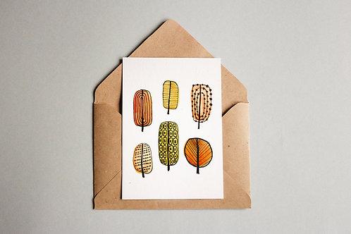 Cartão Bäume