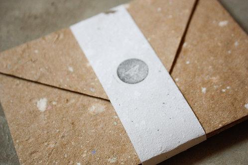 Envelopes Kraft / A7 / 10 unidades