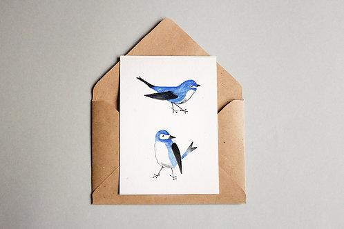 Cartão Vögel