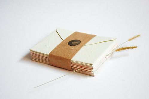 Envelope pólen reciclado / A6 / 10 unidades