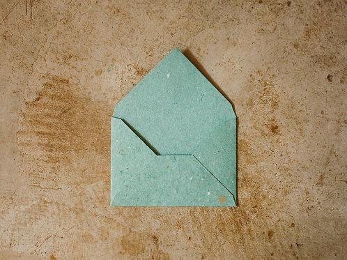 Envelope A6  I  Verde