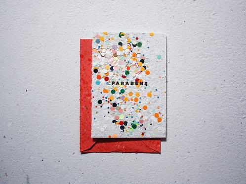Cartão / Parabéns