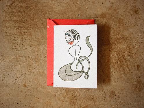 Cartão - Monstrinha Kundalini