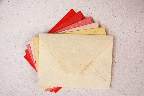 Envelopes cores sortidas / A7 / 10 unidades