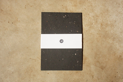 Papel preto reciclado / A4 / 20 folhas