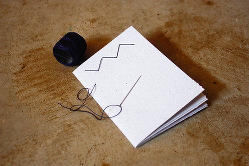 Caderno para bordar - Padronagem
