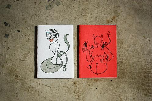 Kit cadernos Manas 3