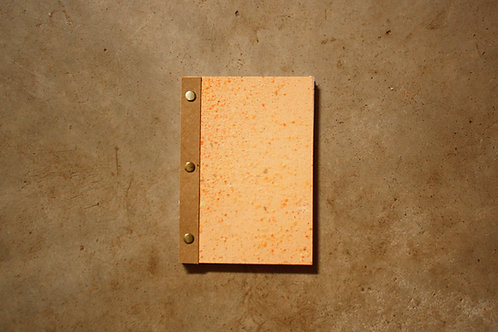 Caderno Bailarina / A5 / Laranja
