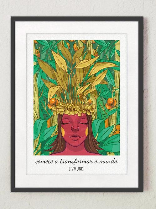 Poster LivMundi - Comece a transformar o mundo