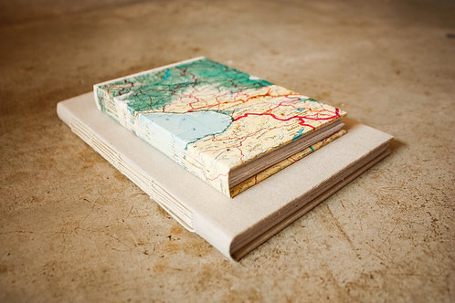 Kit Cadernos capa dura / A5 + A6 / Geográfico