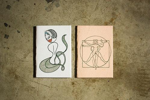 Kit cadernos Manas 1