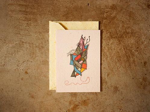 Cartão - Jacaroa de Boa