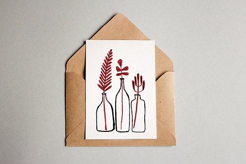 Cartão Flaschen