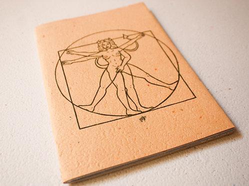 Caderno - Mulher Xotânica I por Jota Carneiro