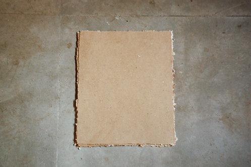 Papel kraft reciclado / 50x40cm / bordas rústicas - 10 folhas