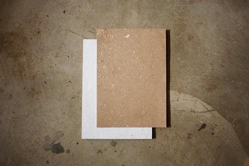 Dupla face kraft/off white / A4 / 10 folhas