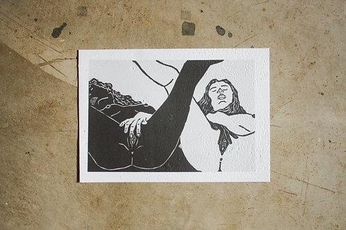 Print A4 - por Gessica Ferreira