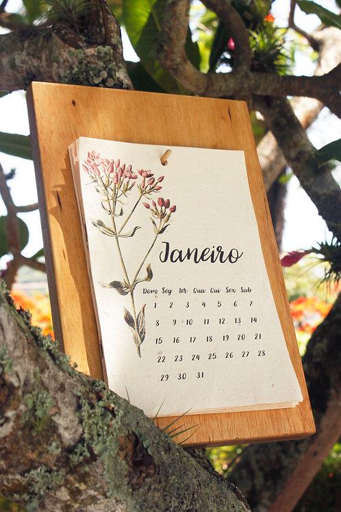 Calendário Floral 2021