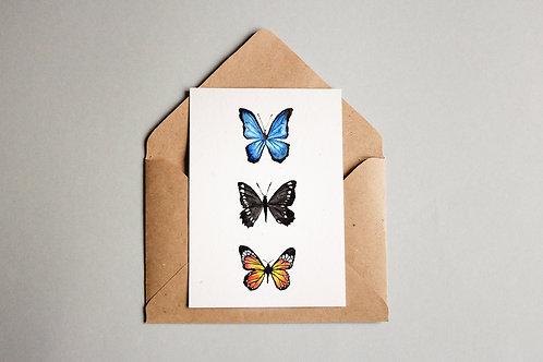 Cartão Schmetterlinge