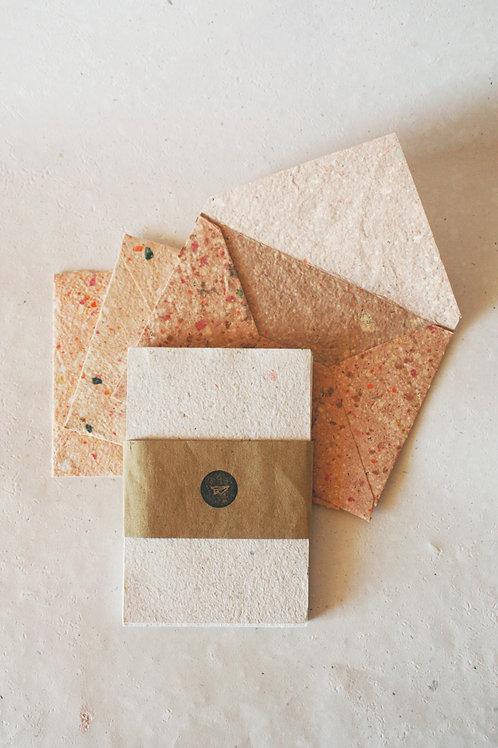 Kit envelopes + Cartões