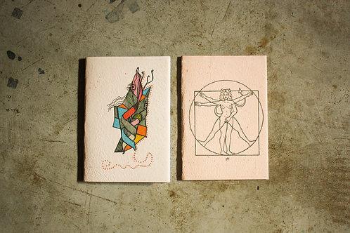 Kit cadernos Manas 2