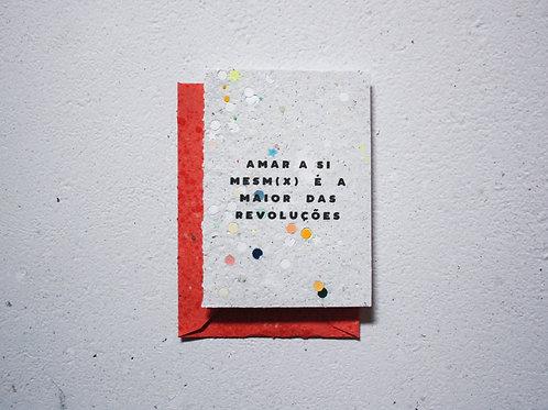 Cartão / Amar a si mesm(x)