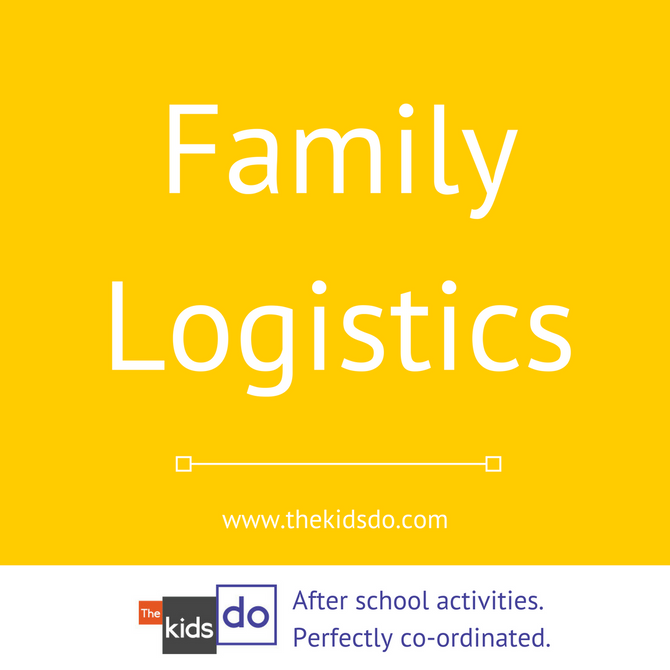 How to plan family logistics around after school activities