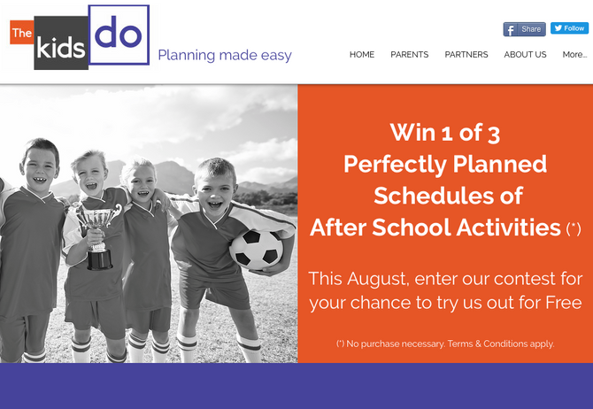 Enter our August contest for a chance to win a free schedule
