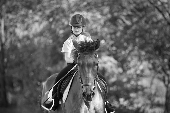 Is your child literally chomping at the bit to get into horse riding lessons?