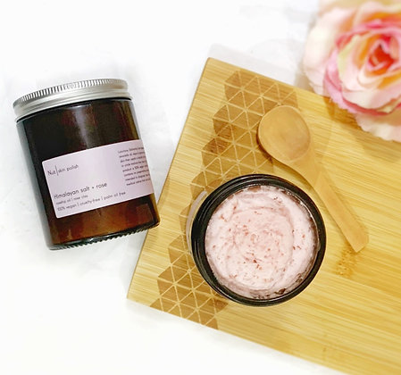 Rosehip + Himalayan Salt  Body Polish