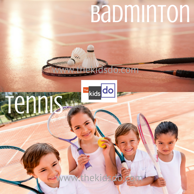 Tennis or Badminton? Grab your racket or racquet for a right real rally of sport